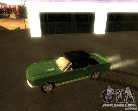 Shelby GT500KR convertible 1968 para GTA San Andreas