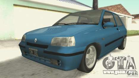 Renault Clio RL 1996 para GTA San Andreas
