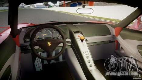 Porsche Carrera GT [EPM] para GTA 4 visión correcta