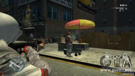 Assassins Creed BrotherHood - Ezio Auditore para GTA 4 segundos de pantalla