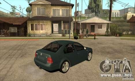 Volkswagen Bora-Golf para la visión correcta GTA San Andreas