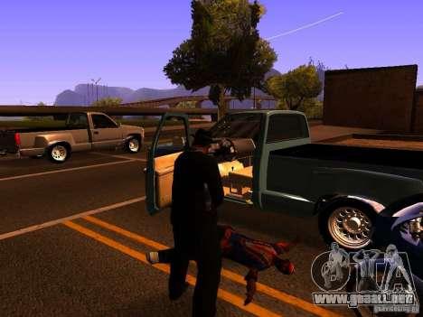 Pancor Jackhammer para GTA San Andreas quinta pantalla