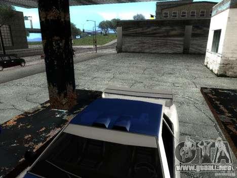 Vinilo con el BMW M3 GTR en Most Wanted para GTA San Andreas vista hacia atrás