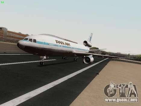 McDonell Douglas DC-10-30 PanAmerican Airways para GTA San Andreas left