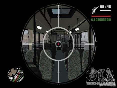 Ikarus 415.02 para vista inferior GTA San Andreas