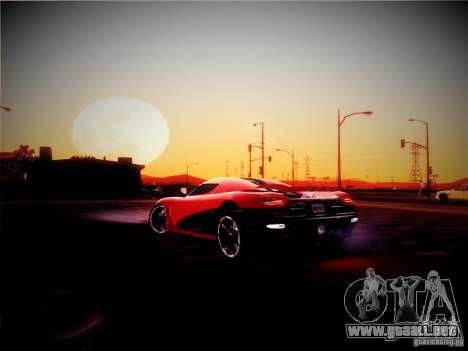 Realistic Graphics 2012 para GTA San Andreas segunda pantalla