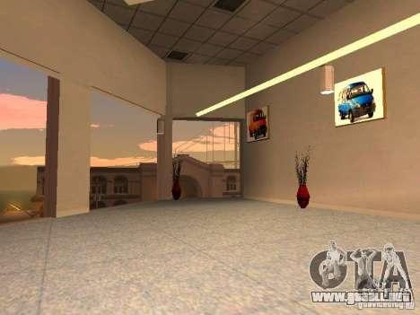 Gaz para GTA San Andreas sucesivamente de pantalla