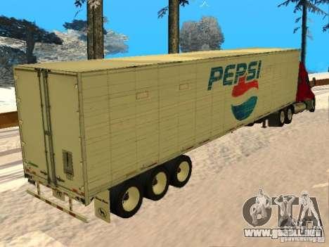 Trailer Artict3 para GTA San Andreas vista posterior izquierda