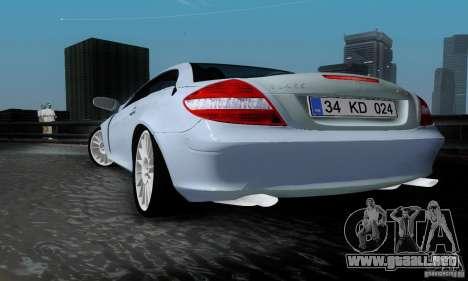 Mercedes-Benz SLK 55 AMG para GTA San Andreas left