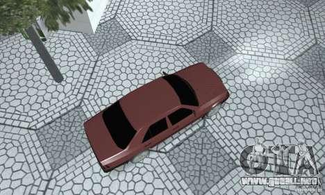 Mercedes-Benz 200D para GTA San Andreas vista posterior izquierda