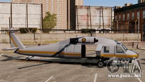 Estados Unidos Departamento de seguridad naciona para GTA 4 adelante de pantalla