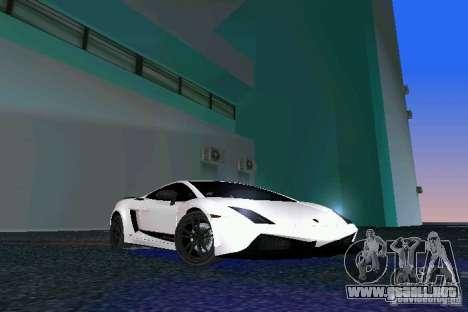 Lamborghini Gallardo LP570 SuperLeggera para GTA Vice City
