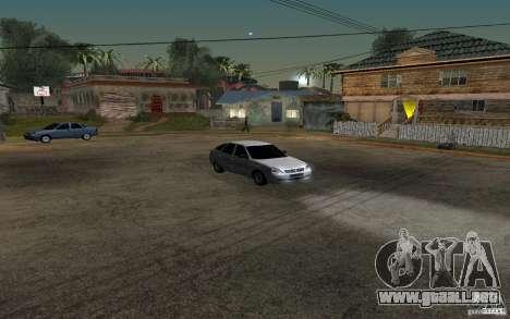 Luz sintonización hatchback LADA priora para visión interna GTA San Andreas