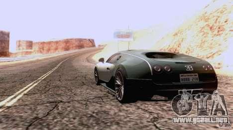 Bugatti ExtremeVeyron para la visión correcta GTA San Andreas