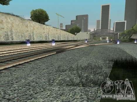 Luces de tráfico ferroviario para GTA San Andreas sucesivamente de pantalla