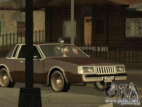 The Akatsuki gang para GTA San Andreas quinta pantalla