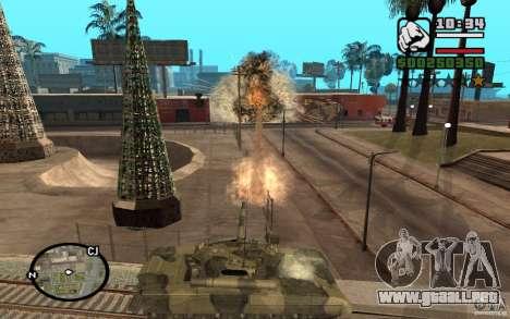 Hydra, Panzer mod para GTA San Andreas tercera pantalla