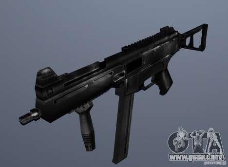 KM UMP45 Counter-Strike 1.5 para GTA San Andreas segunda pantalla