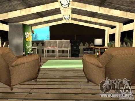 New Grove Street TADO edition para GTA San Andreas twelth pantalla