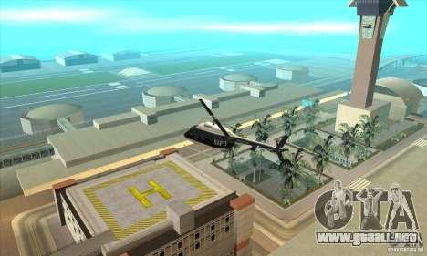 Police Maverick 2 para GTA San Andreas left