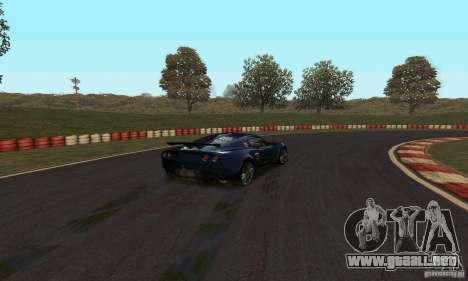 GOKART pista ruta 2 para GTA San Andreas segunda pantalla
