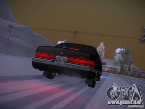 Buick Roadmaster 1996 para la vista superior GTA San Andreas