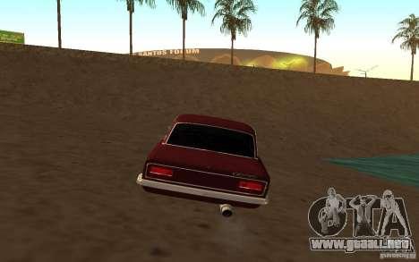 VAZ 2103 para GTA San Andreas vista posterior izquierda