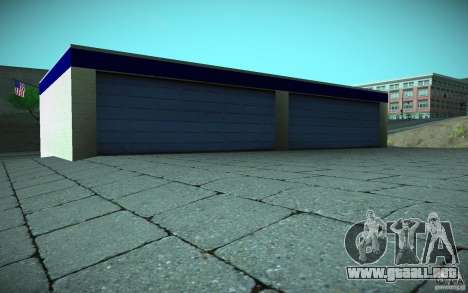 HD Garage in Doherty para GTA San Andreas séptima pantalla