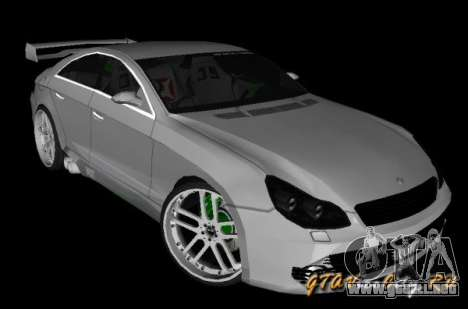Mercedes-Benz CLS500 The GreenFairy TUNING para GTA San Andreas left