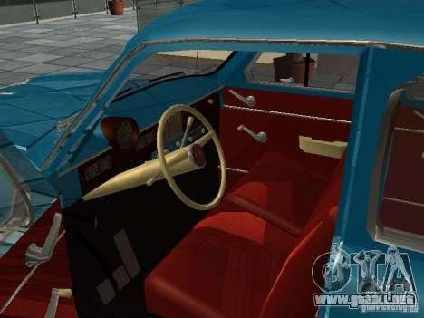 Moskvitch 423 para la visión correcta GTA San Andreas