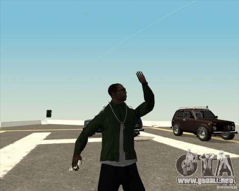 Animación diferente para GTA San Andreas sexta pantalla