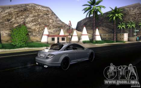 Mercedes Benz CL65 AMG para vista lateral GTA San Andreas