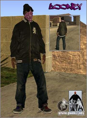 Piel Pack Getto para GTA San Andreas tercera pantalla