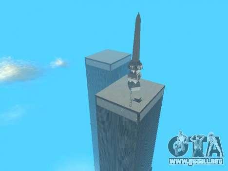 World Trade Center para GTA San Andreas décimo de pantalla