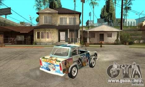 Trabant 601 Custom para la visión correcta GTA San Andreas