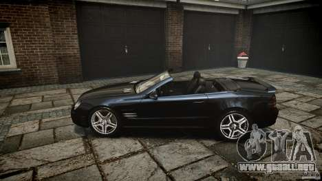 Mercedes Benz SL65 AMG para GTA 4 vista lateral