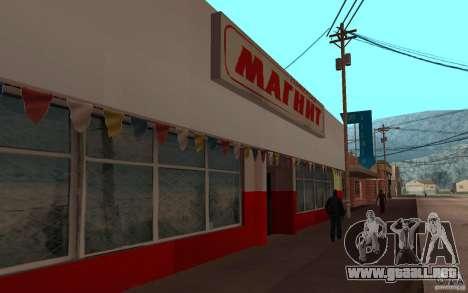 Actualizado Palamino Creek para GTA San Andreas tercera pantalla