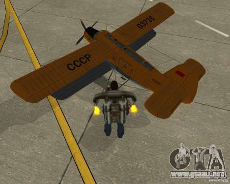 An-2V para GTA San Andreas left