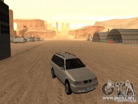 Volkswagen Passat B4 para GTA San Andreas left
