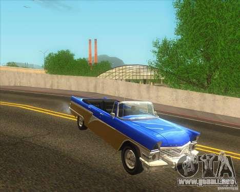 GAZ Chaika 13B para la visión correcta GTA San Andreas