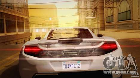 Optix ENBSeries Anamorphic Flare Edition para GTA San Andreas séptima pantalla