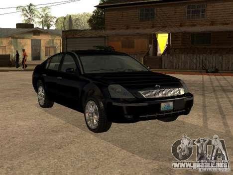 Nissan Teana para visión interna GTA San Andreas
