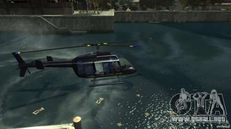 NYC Helitours Texture para GTA 4 vista lateral