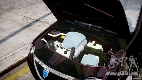 Dacia Logan 2007 Prestige 1.6 para GTA 4 vista interior
