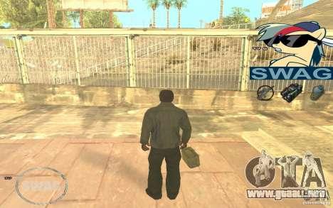 C-HUD Pony SWAG para GTA San Andreas tercera pantalla