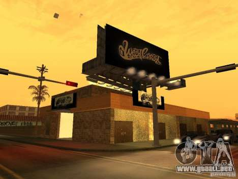 New PaynSpay: West Coast Customs para GTA San Andreas segunda pantalla
