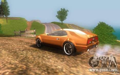 AMC Javelin 2010 para GTA San Andreas left