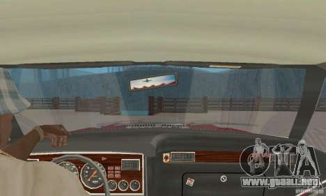 Ford Mustang II 1976 Cobra v. 1.01 para GTA San Andreas vista hacia atrás