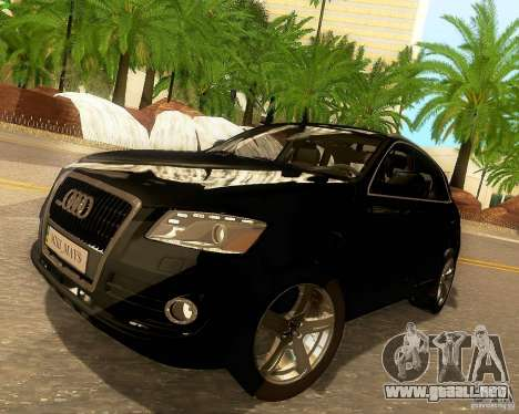 Audi Q5 para las ruedas de GTA San Andreas