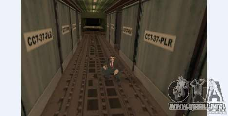Unique animation of GTA IV V3.0 para GTA San Andreas segunda pantalla